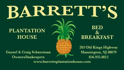 Barrett Plantation color biz card - Business Cards 2