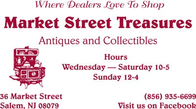 Market Street Treasurers b w biz card Ad - Business Cards 1