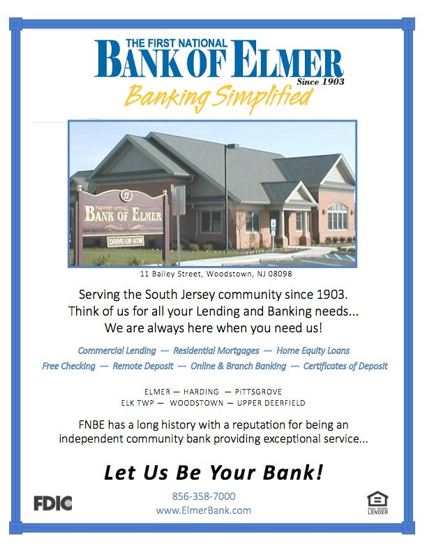 Elmer Bank full page ad