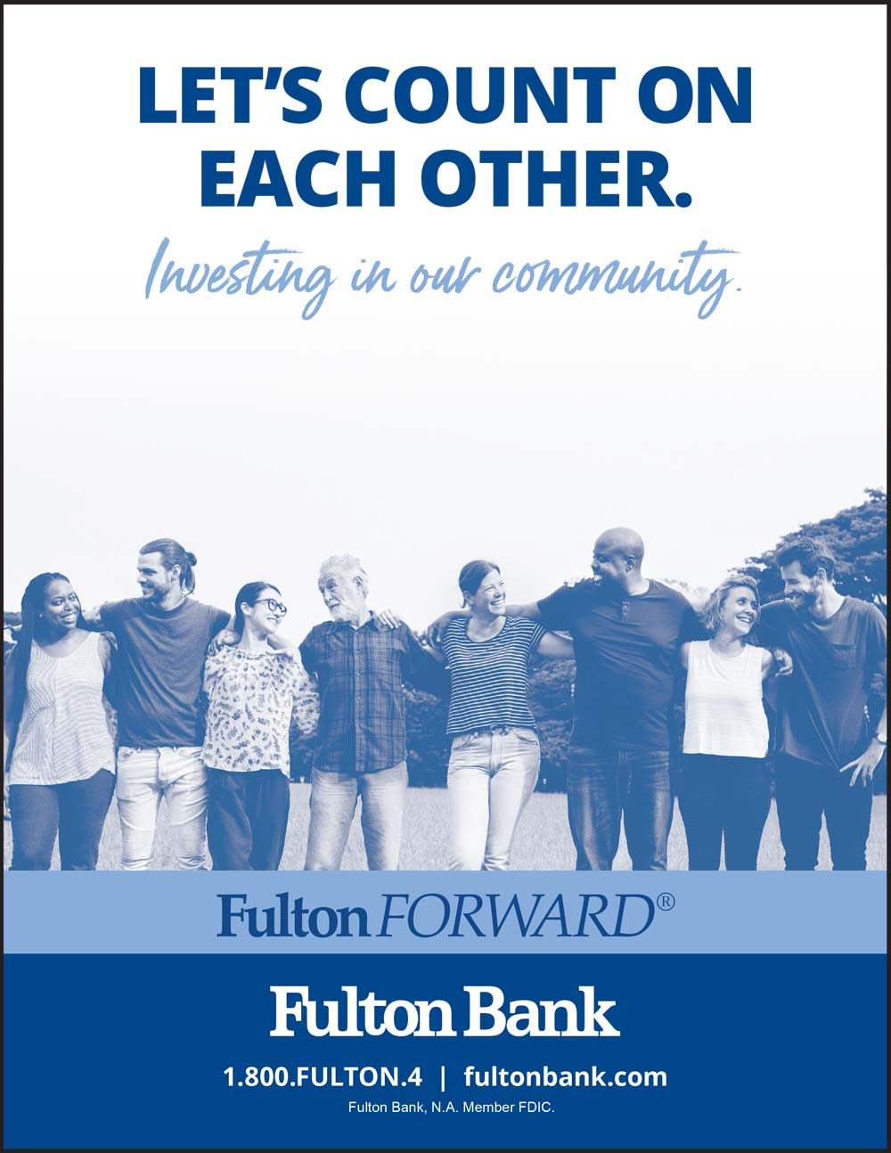 Fulton Bank - Let's count on each other