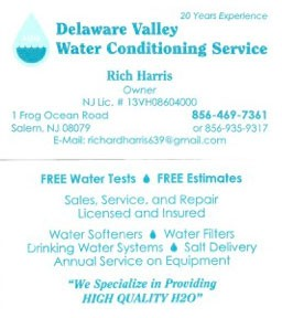Delaware Valley Water Conditioning Service