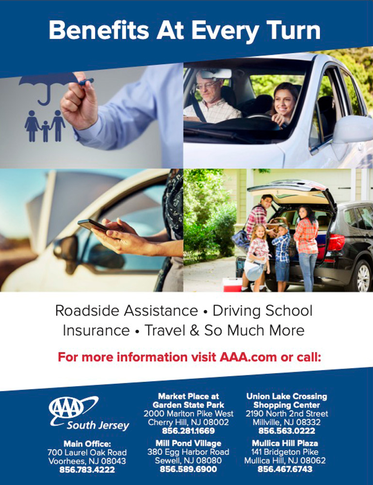 AAAA South Jersey - Benefits at every turn